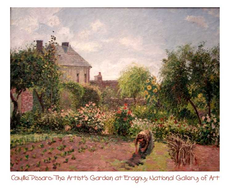 Camille Pissaro: The Artist's Garden, National Gallery of Art